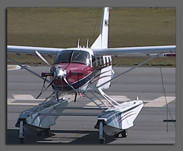 MAF Quest Kodiak plane on floats