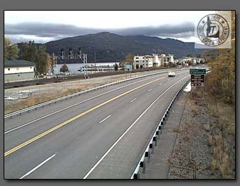 Sandpoint Webcam current road conditions